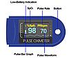 Вимірювач пульсу, Пульсоксиметр AD-807 на палець, Пульсометр компактний, бездротовий Пульсоксиметр, фото 4