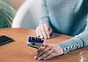 Вимірювач пульсу, Пульсоксиметр AD-807 на палець, Пульсометр компактний, бездротовий Пульсоксиметр, фото 2