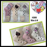 Дитячі демісезонні шкарпетки для дівчаток ( мін. замовлення 12 шт. в уп. ) 9-10 років (134-140 см)