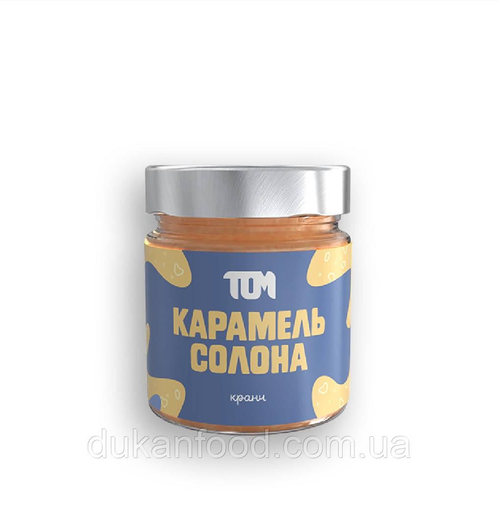 КАРАМЕЛЬ СОЛЕНАЯ КРАНЧ, тм ТОМ, 180 г