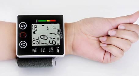 Электронный Измеритель Давления Elecctronic Blood Pressure Monitor Arm Style   Тонометр, фото 2