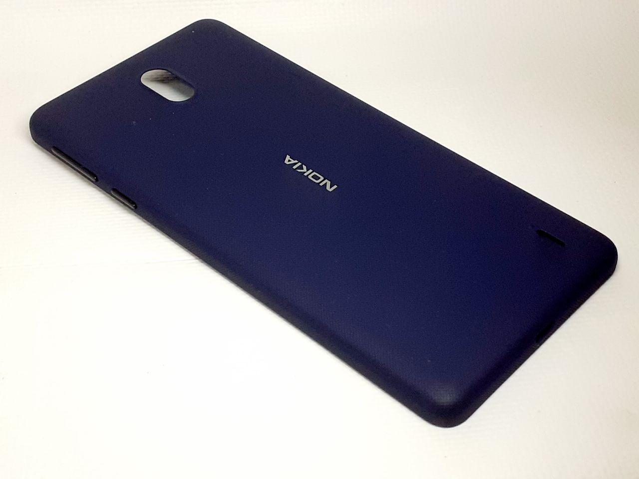 Корпус с кнопками синий Nokia 1 Plus TA-1130 оригинал б.у.