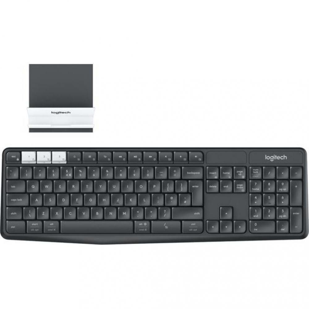 Клавиатура беспроводная Logitech K375s Multi-Device Keyboard из Германии