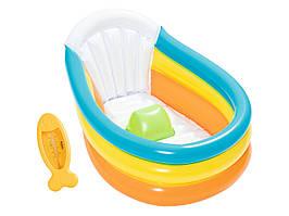 Ванночка надувная детская Bestway 76×48×33 см 51134