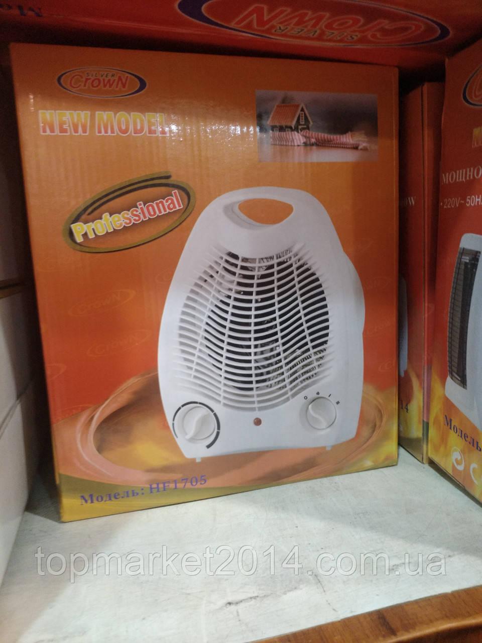 Тепловентилятор электрический Crown , 2000W обогреватель напольный