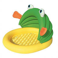 Бассейн лягушка детский 107×104×71 см 52162
