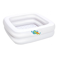 Бассейн детская ванна Bestway 86×86×25 см 51116