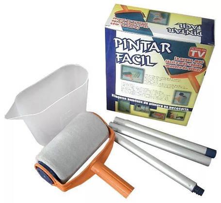 Валик для покраски больших площадей с резервуаром Pintar Facil, фото 2