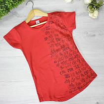 Дитяча футболка, трикотаж, для дівчаток 7-12 року (6 од. уп)