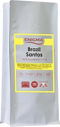 Кава в зернах Enigma Brasil Santos 1 кг