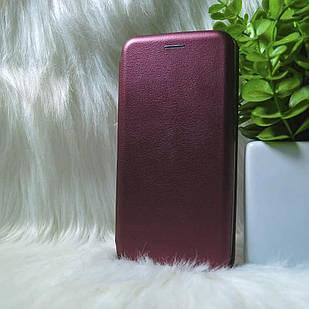 Чехол-книжка Nokia 5.1+ бордовый