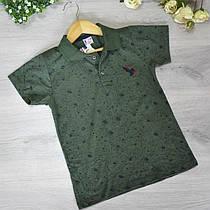 Детская футболка, трикотаж, для мальчика 8-12 лет (5 ед. в уп)