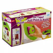 Кисть-плашка для покраски Пойнт энд Пейнт Point and Paint | Малярный валик с лотком Point N Paint, фото 2