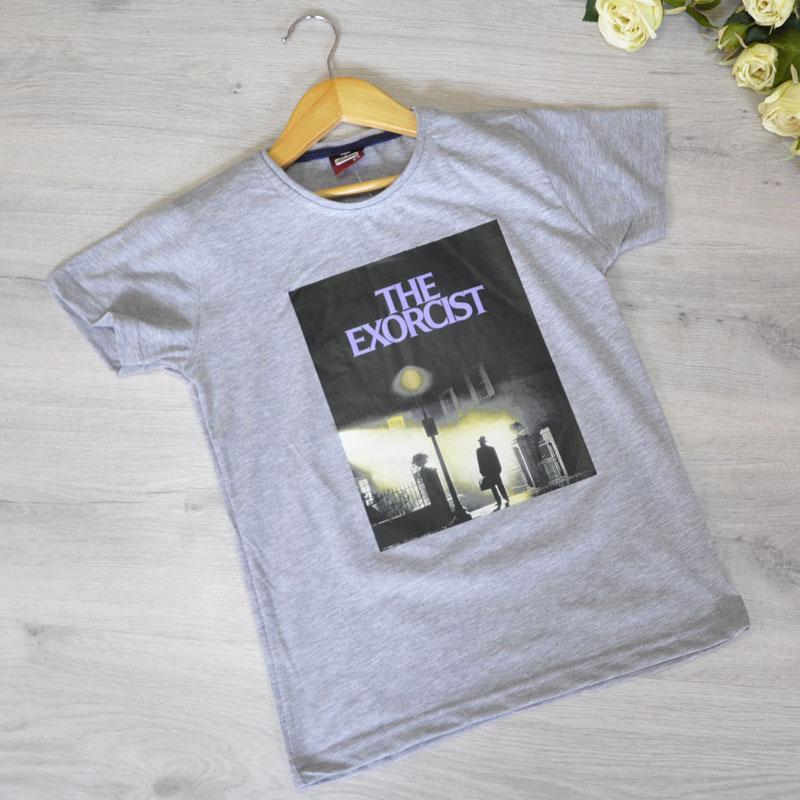 Дитяча футболка, трикотаж, для хлопчика 9-12 років (4 од. уп), Сірий