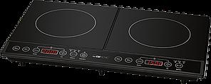 Індукційна подвійна плита Clatronic DKI 3609 чорний