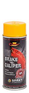 Эмаль-спрей Жёлтая для суппортов Brake Caliper Champion 400мл (Термостойкая аэрозольная краска чемпион)
