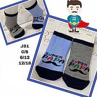 Дитячі демісезонні шкарпетки для дівчаток ( мін. замовлення 12 шт. в уп. ) 0-6 міс, 0-6 місяців