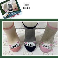 Детские демисезонные носочки для девочек ( мин. заказ 12 шт. в уп. ) 0-12 мес