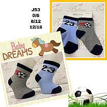 Детские демисезонные носочки для мальчиков ( мин. заказ 12 шт. в уп. ) 0-6 мес, 0-6 месяцев