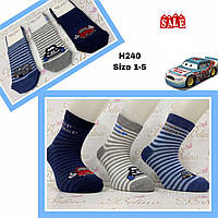 Детские демисезонные носочки для мальчиков ( мин. заказ 12 шт. в уп. ) 3-4 лет