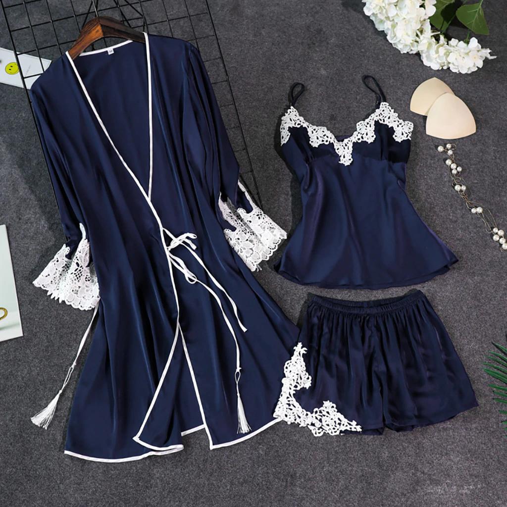 Женская пижама тройка Размер S(44)