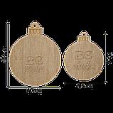 Набор для вышивания бисером по дереву FLK-305 (2 штуки), фото 2