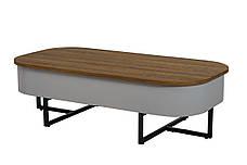 Журнальный стол СТ-15 (Орех + Серый), фото 2