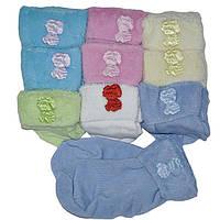 Детские носочки на махре до года( мин. заказ 1 упаковка)