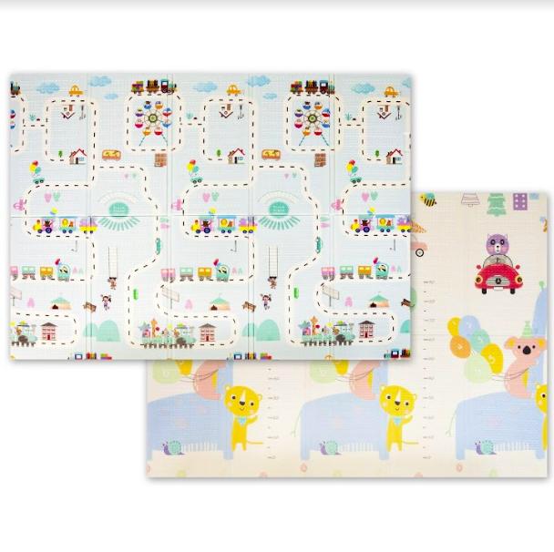 """Дитячий термо килимок складний ігровий Атракціон - Ростомір"""" 200х180 см + сумка-чохол"""