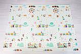 """Дитячий термо килимок складний ігровий Атракціон - Ростомір"""" 200х180 см + сумка-чохол, фото 2"""