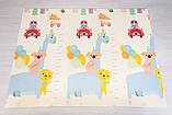 """Дитячий термо килимок складний ігровий Атракціон - Ростомір"""" 200х180 см + сумка-чохол, фото 3"""