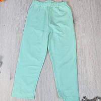 Дитячі однотонні футболки для дівчаток 110-134 см (5 од в уп), М'ята