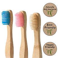 Бамбуковые зубные щетки XPel Xoc мягкие 3шт комплект