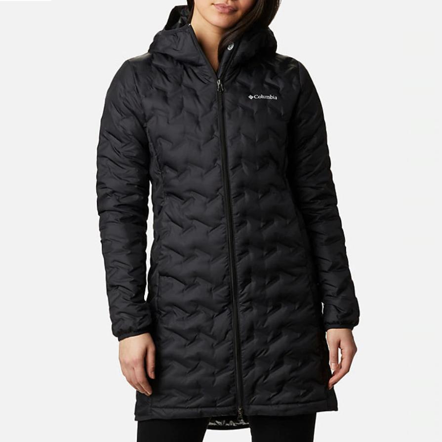 Женское пальто Columbia Delta Ridge Long Down Jacket