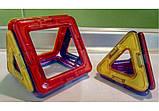 Конструктор магнітний дитячий Кольорові магніти 14 деталей арт.2425, фото 5