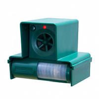 Відлякувач собак, кішок, білок ультразвукової вуличний з ІЧ датчик руху Dogchaser Leaven LS-987S