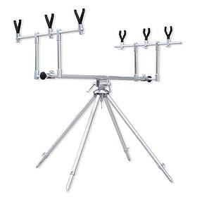 Підставка Lineaeffe Rod Pod для трьох вудилищ +сумка