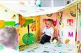 """Дитячий термо килимок складний ігровий """"Подорож - Поляна"""" 200х150 см + сумка-чохол, фото 9"""