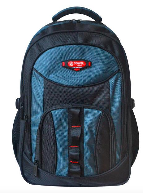 Рюкзак 6131 Power London черный с синим
