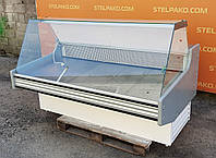 Холодильная витрина колбасная «Juka W» 1.8 м. (Польша), LED – подсветка, Б/у, фото 1