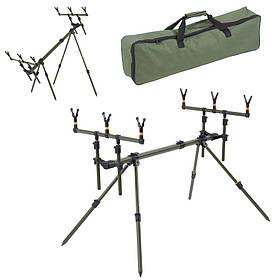 Підставка Balzer Rod Pod Tactics Carp для 3 вудилищ