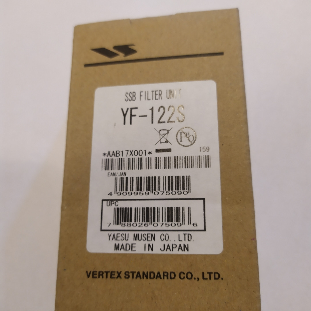 Yaesu YF-122S встраиваемый SSB фильтр