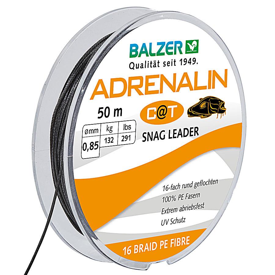 Шок лидер Balzer 16x Adrenalin Cat 50м 0.85мм 132кг