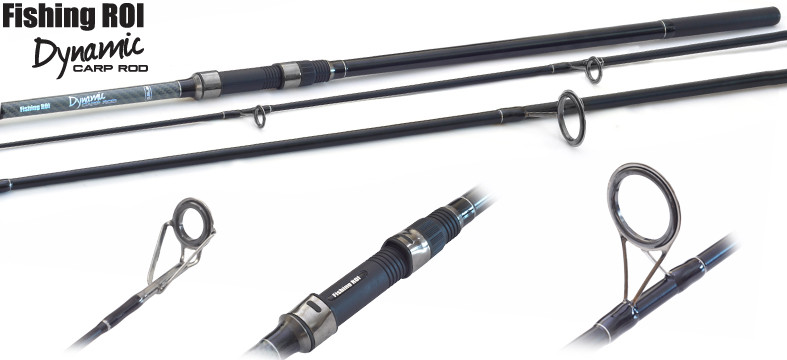 Карповик Fishing Roi Dynamic Carp Rod 3.90м 3.00Lb 3-секционный