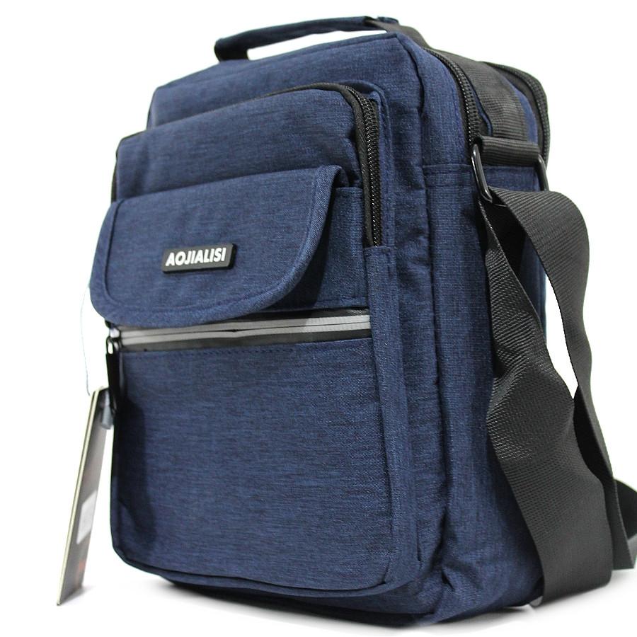 Мужская сумка - барсетка, тканевая Aojialisi YR 89079