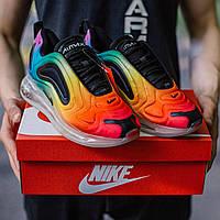 Чоловічі кросівки різнокольорові Nike Air Max 720 Be True Multi-Color. Найк Аір Макс 720 Бі Тру Мульти Колор