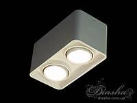 Накладной двойной светильник Diasha 165A-WH