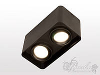 Накладной двойной светильник Diasha 165A-BK