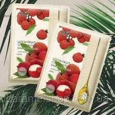 Маска тканевая для лица Hanhuo Silk с экстрактом ягоды личи 30 g