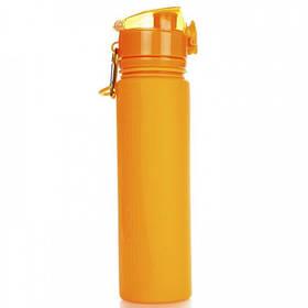 Бутылка Tramp TRC-094 700 мл силиконовая Orange